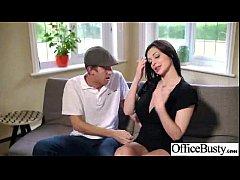 Office Busty Girl (aletta ocean) Get Banged Har...