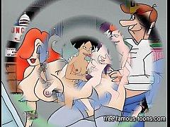 Futurama jetsons cartoon porn parody tmb