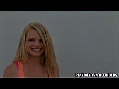 Young blonde teen in hot POV scene