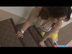 Attractive Ai Yuumi has an aroused house guest ...