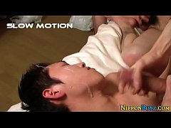 Japanese teens jerking