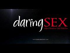 DaringSex Big Boobs Babe in Lingerie Pleasured ...