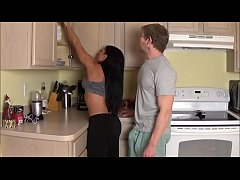 Mom Takes Load in Laundry Room - Alexis Rain - ...