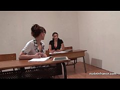 French students hard ass fucked and fisted in F...