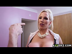 Busty milf Rebecca Moore hot anal fuck massage