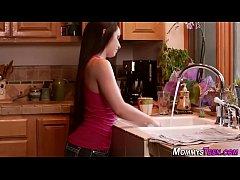 Teen eats hot milfs pussy