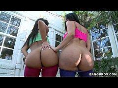 2 Latina Sluts with Big Asses
