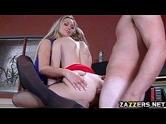 Jillian gets a fat cock in her pussy
