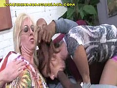 BBC Sucked By Blonde Mom And Teen Daughter