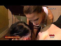 Viktoria Goo teaches Mini Hotcore how to be a g...