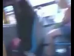 masturbating in front of women on bus