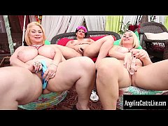 Triple Threat with Angelina Castro's Big Tit Fr...