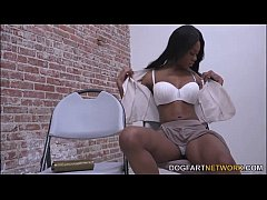 Nadia Jay Gets Her Black Pussy Creampied At A G...