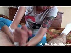 I need both hands to jerk you off, big boy JOI