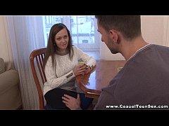 Casual Teen Sex - Busty teen wants to fuck today