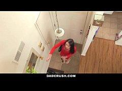 DadCrush - Sexy Daughter Brings Dad Breakfast In Bed