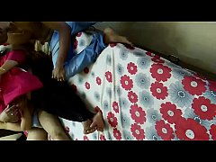 Desi Wife Enjoiyng Hot Foursome With Friends Se...