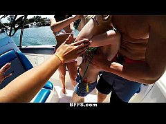 BFFS - Wild Spring Break Teens Fuck on Boat