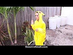 ExxxtraSmall - Wild Pikachu Caught and Fucked