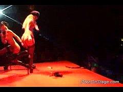 lesbian sex on public stage