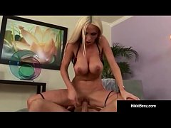 Penthouse Pet Nikki Benz Gets Fucked & Jizzed O...