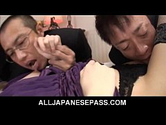 Office sexretary Rina Koizumi taken out for mor...