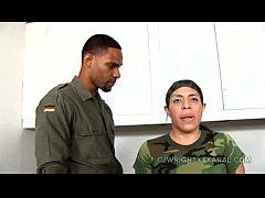 Military anal, Sophia Castello, army