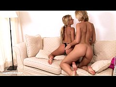 Sensual  lesbian sex by Rene and Paulina from S...