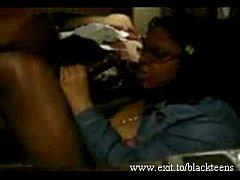 Black bbw ex GF deepthroat and facial