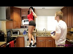 Moms Teach Sex - Her boyfriend jizzed on her mo...