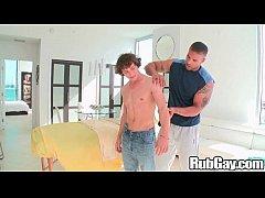 School Boy Gets Massage On Rub gay