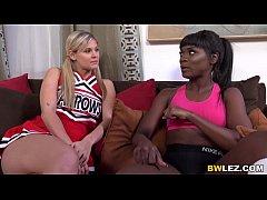 Lesbian Ana Foxxx And Scarlet Red - Zebra Girls