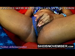 Msnovember Hairy Bush Has To Lick While I Rub M...