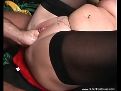 Hardcore Dutch BBW Wild Sex In Holland