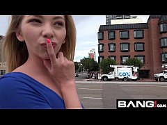 BANG Real Teens: Angel Smalls Loves Public Flas...