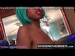PORNSTAR SLUT MSNOVEMBER DOES JOI RUBS FUCKS HE...