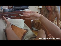 DOUBLEVIEWCASTING.COM - VICTORIA IS SMITTEN BY BIG HOSE (POV VIEW)