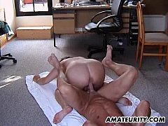 Chubby amateur Stepmom gets fucked in all posit...