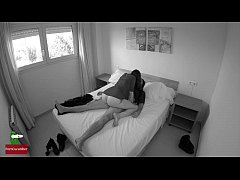This cute young girls masturbates with his boyf...