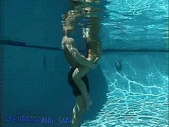 Underwater Threesome With A Blonde Porn Video