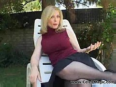 Amazing strawberry blonde mature fell in love w...