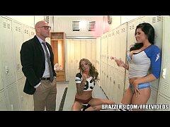 Brazzers - Locker room threesome