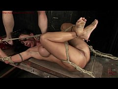 Tied up and humiliated woman Cony Ferrara