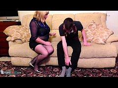 AgedLovE Mature Trisha and Handy Man Sam Bourne