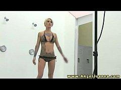 Angel Joanna visits hot bffs backstage