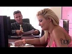 Two Horny Babes Have A Hardcore Office Coworker...
