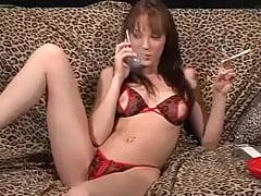 Charlie Laine - Smoking Fetish at Dragginladies