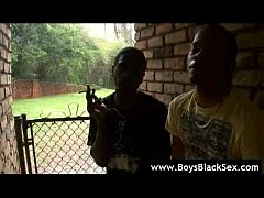 Blacks On Boys - Black Gay Dudes Fucked Hard cl...