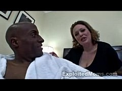 MILF's First Interracial Scene