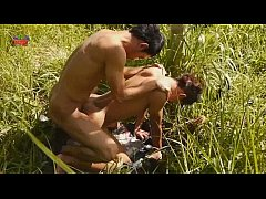 Fodendo com o macho asiatico no mato